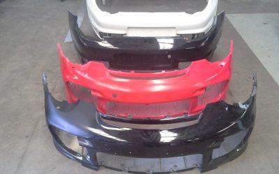 Porsche 997 GT2 bumpers