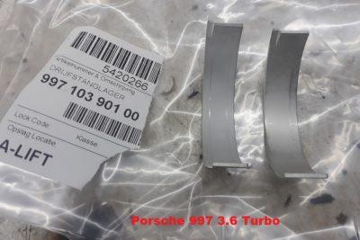 Porsche 997 Turbo drijfstanglagers