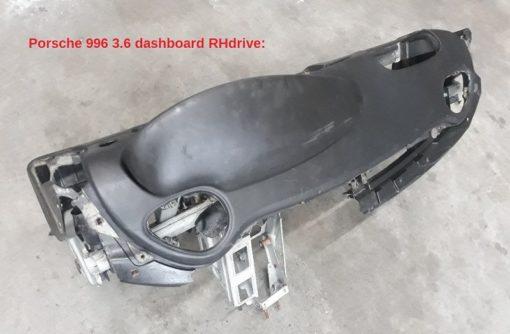 Porsche 996 RHdrive dashboard