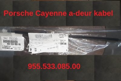 Porsche Cayenne deurslot-kabel