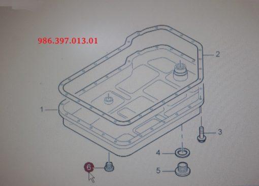 Porsche Boxster aftap-plug