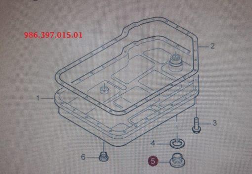 Porsche Boxster vul-plug