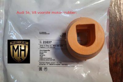 Audi S4 motor rubber