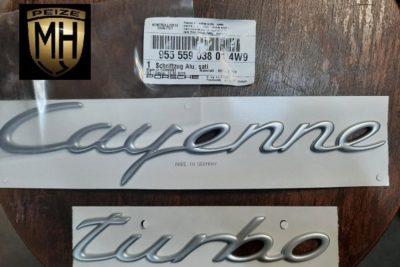 Porsche 948 Turbo letters