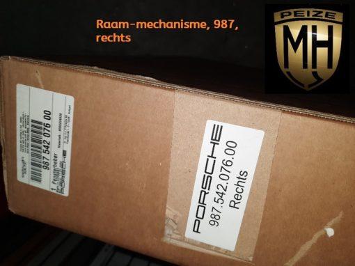 Porsche 987 Raam mechanisme