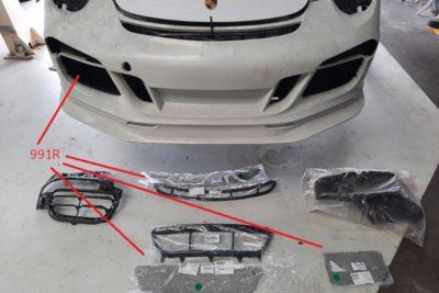 Porsche 991 frame racegaas