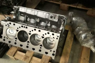 Porsche Cayenne V8 motor