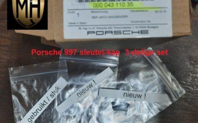 Porsche 997 sleutel-knoppen