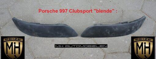 Porsche 997 luchthappers