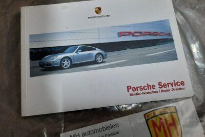 Porsche servicedealer boekje
