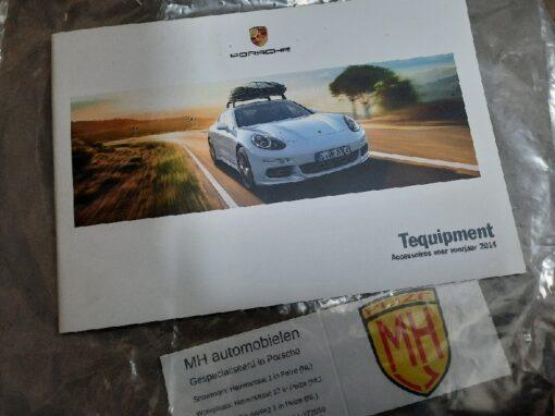 Porsche tequipmentboekje