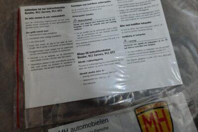 Porsche uitbreiding handleiding 1