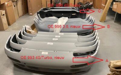Porsche 993 Turbo voorbumper