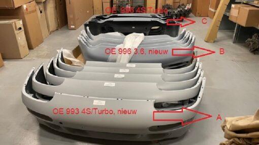 Porsche 996 voorbumper