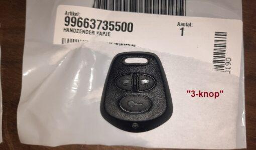 Porsche 996 sleutel afdekkap