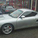 HARDTOP met achterklep en voorspoiler Porsche Boxster